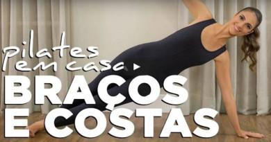 Pilates em Casa Chris Flores