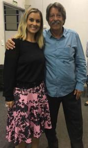 Fabiola e Waldir Palestra sobre Mercado de Trabalho