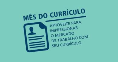 Mês Currículo Estácio Brasília DF