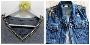 Customização Blusas e Jaquetas