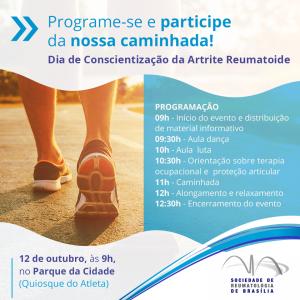 Caminhada de Conscientização da Artrite Reumatoide